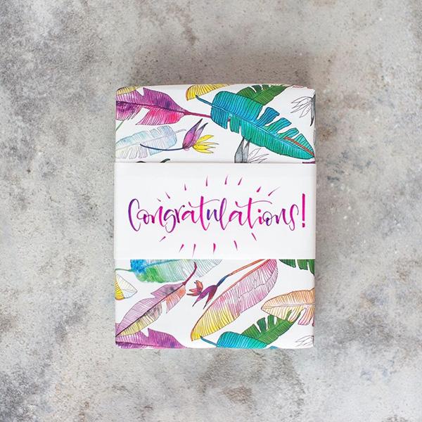 Congratulations Present