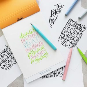 calligraphy art templates