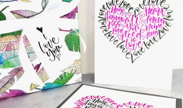 How to be creative with the Laura Prudence Calligraphy monthly calligraphy templates downloads